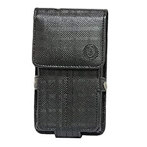 Jo Jo A6 D4 Series Leather Pouch Holster Case For ZTE Nubia X8 Mini Black