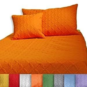 homescapes ultrasonic jet de canap jet de lit orange matelass pour 2 personnes de 250 x 350. Black Bedroom Furniture Sets. Home Design Ideas