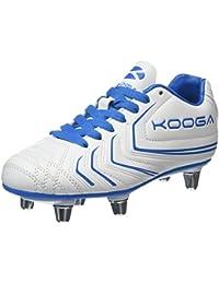 Kooga Warrior 2 Junior, Zapatillas de Rugby para Niños