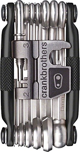 Crankbrothers Multi-19 Midnight Edition Outil Mixte Adulte, Rouge