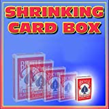 Magician's Shrinking Card Case Instantly Shrink Bicycle Deck Flash Magic Trick