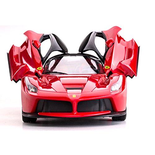 RC Sportwagen Ferrari LaFerrari mit Licht ferngesteuertes Auto 34cm Länge- Lenkrad Fernbedienung- Lizenziertes Modell