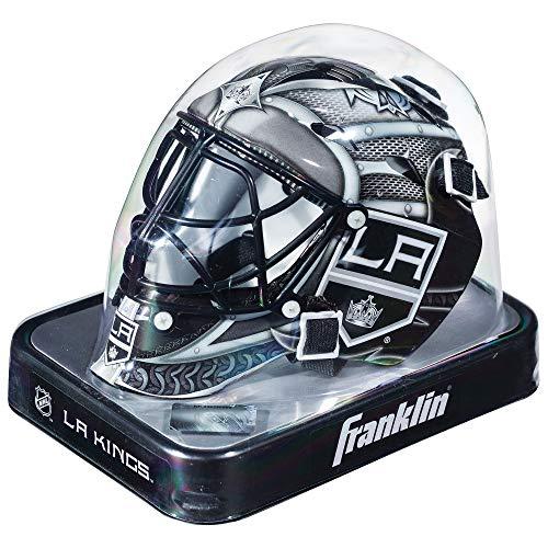 ockey-Sammelartikel Torwart-Helm Mini, Design: Logo Einer NHL-Mannschaft, Unisex, 7784F12, weiß ()
