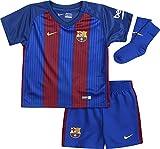 Nike FCB Inf Hm Kit - Ausrüstung Linie F.C. Barcelona für Jungen für 24-36 Monate, Farbe Weiß
