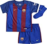 Nike Kinder Babykit Stadium 2016/2017 FC Barcelona, blau, 74 (6-9 Monate)