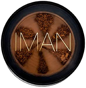 Iman Cosmetics Poudre Semi-Libre Second to None Clay Medium Dark