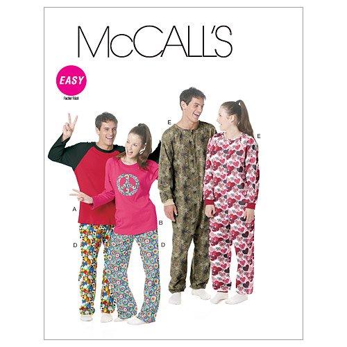 mccalls-patterns-m6251-tailles-xs-s-m-l-taille-z-hommes-teen-boys-tops-pantalons-et-de-combinaison-l