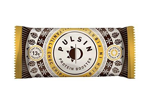Pulsin Vanilla Choc Chip Protein Bar 50g x 18
