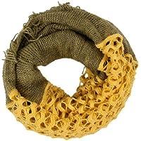 Sciarpa d'inverno a tubo circolare, per i mesi freddi, foulard