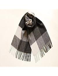CRL Foulard d automne d hiver Femme Foulard écossais écharpe tissée  All-Match 3f98997cece
