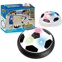 Republe Destella de la música Juguetes balón de fútbol colores de luz LED de disco de aire de alimentación de fútbol sala de cernido del fútbol