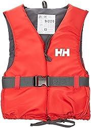 Helly Hansen Unisex Erwachsene Rettungsweste Sport Ii Schwimmweste, mehrfarbig (Red/Ebony), M