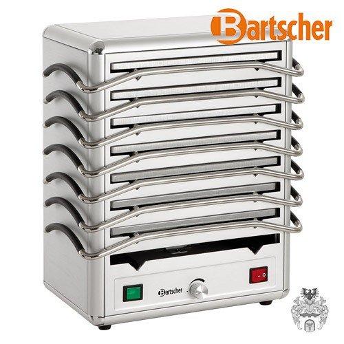 Bartscher Rechaud 8 mit 8 Warmhalteplatten aus Aluminium