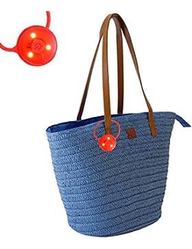 Korbtasche Strandtasche Ibizatasche Tasche Hippitasche Basic II