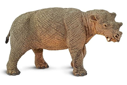 Safari 100087 Prehsitoric World Uintatherium Minature