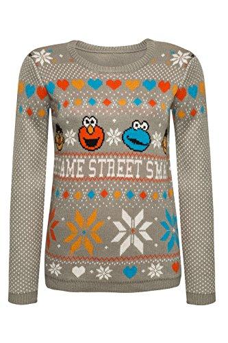 Sesamo Apriti Seasons Greetings Christmas Sweater lavoro a maglia Sweater Multicolour multicolore XL