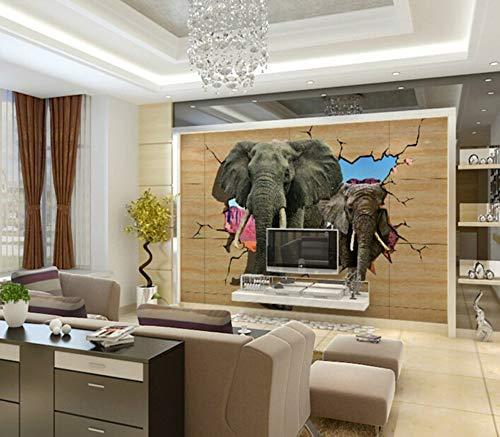 WORINA Papel Tapiz 3D de la habitación Papel fotográfico Mural Grande para...