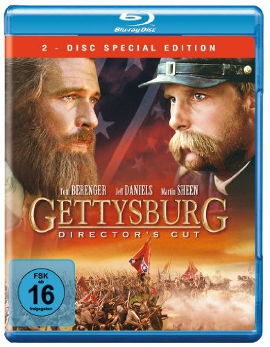Auf Kostüm Abstand - Gettysburg [Blu-ray] [Director's Cut] [Special Edition]