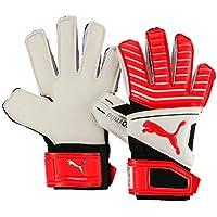 b4c0771fbecd Puma One Grip 17.2 RC Junior Goalkeeper Gloves Size 4 white/red/black