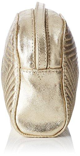 Petite Mendigote Damen Meteore Umhängetasche, 10x13.5x18.5 cm Gelb (Gold)