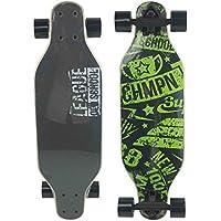 """RT10 Playride-808657, Skateboard de aprendizaje, 808657 Longboard 27"""" de madera , color/modelo surtido"""
