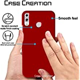 "Case Creation TM Back Case For Asus ZenFone 5 (2018) ZE620KL,Asus Zenfone 5 ZE620KL/ZenFone 5 (2018)/Asus Zenfone 5 6.2"" Inch 2018 Matte Finish Back Case Cover Guard Color - Wine RED"