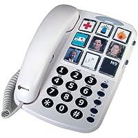 TELEFONO SOBREMESA GEEMARC TECLAS GRANDES Y 9 MEMORIAS DIRECTAS