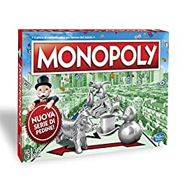 Monopoly – Classico (gioco in scatola Hasbro Gaming)