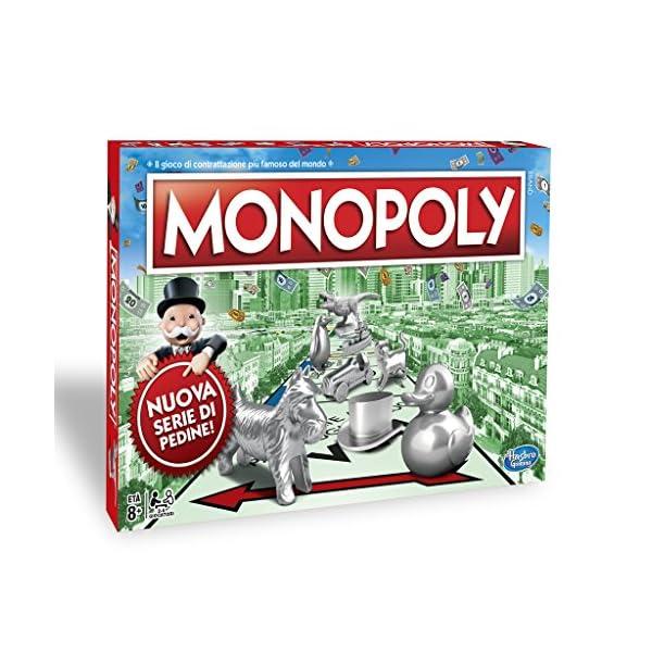 Monopoly - Classico (gioco in scatola Hasbro Gaming) 1 spesavip