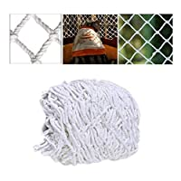 Home Child Safety Net Child Protection Net 1*2m 2*5m, Balcony Window Door Stair Railing Safety Net Cat Net Shatterproof Net Decoration Net, Hand-woven Mesh Multi-function Multi-size White High-altitud