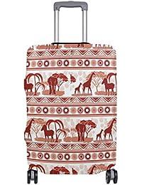 Preisvergleich für COOSUN African Art-Druck-Reise-Gepäck Schutzabdeckungen Waschbar Spandex Gepäck Koffer Cover - Passend für 18-...