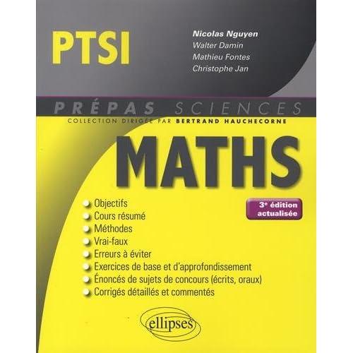 Mathématiques PTSI - 3e édition actualisée