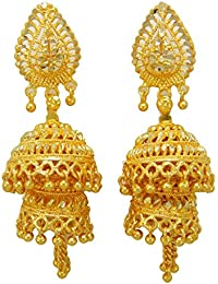 5fdf44bd2f60 India Tradicional Étnico De La Joyería Regalo Pendientes Goldplated Boda  Bollywood ...