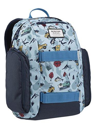 Burton 13659107442, mochila unisex niños, Backpacker Print, talla única