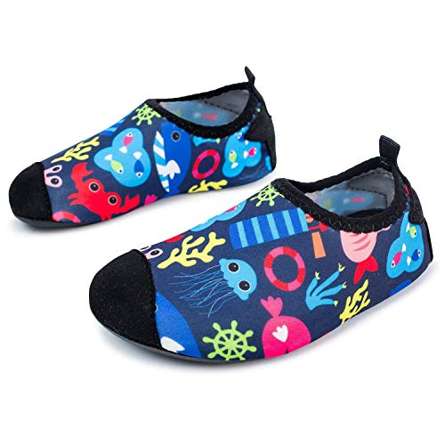 L-RUN Unisex Aqua Water Shoes a Piedi Nudi per Beach Pool Surf Yoga Esercizio Sea World