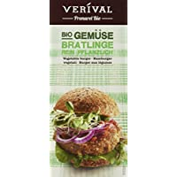 Verival Gemüse Bratlinge  - Bio, 3er Pack (3 x 200 g Beutel) - Bio