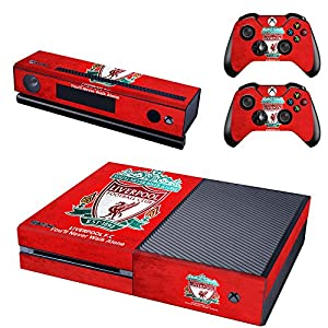 REYTID Liverpool Xbox One Konsole Skin / Sticker + 2 x Controller Aufkleber & Kinect Wrap – komplettes Set – Microsoft XB1