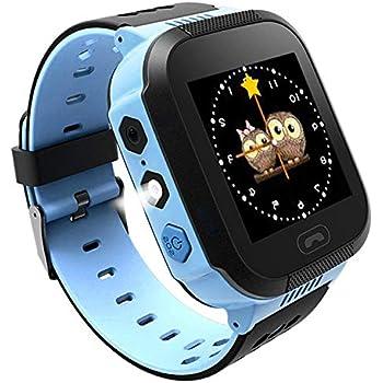Reloj Inteligente Smartwatch para niños, rastreador de ubicación GPRS + LBS, Reloj del teléfono, Reloj de cámara, Chat de Voz, Llamadas telefónicas, ...