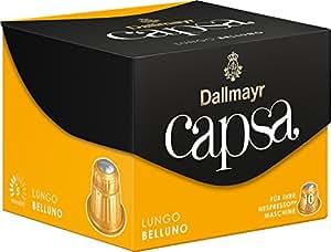 Dallmayr Kaffee capsa Lungo Belluno Kaffeekapseln, 5er