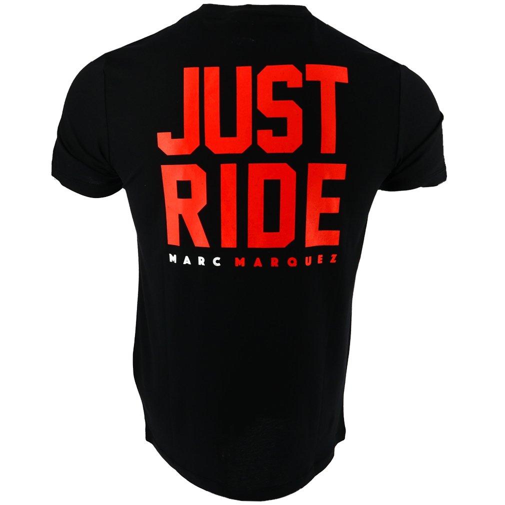 El Con Márquez Y Marc Negra Just Ride Colección 2018 93 Camiseta Oficial jLR54A