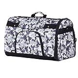 BELLAMORE GIFT Groß Transporttasche Hundebox Tragebox für Hunde und Katze bis 3kg Hundetragetasche Katzentasche 36*22*28cm PC24