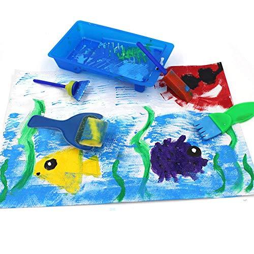 Paint Spugne Per Bambini29 Pezzi Per Bambini Pennelli Per Dipingere