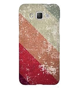 Slant Line Color Pattern 3D Hard Polycarbonate Designer Back Case Cover for Samsung Galaxy Grand Max G720