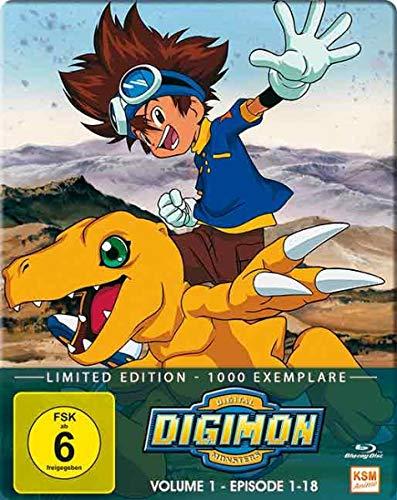 Digimon Adventure - Staffel 1, Volume 1: Episode 01-18 [Blu-ray]