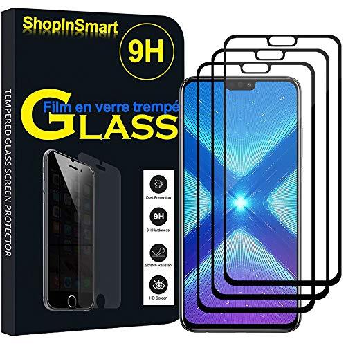 ShopInSmart® 3X Hochwertige gehärtete Panzerglasfolie für Huawei Honor View 10 Lite 6.5