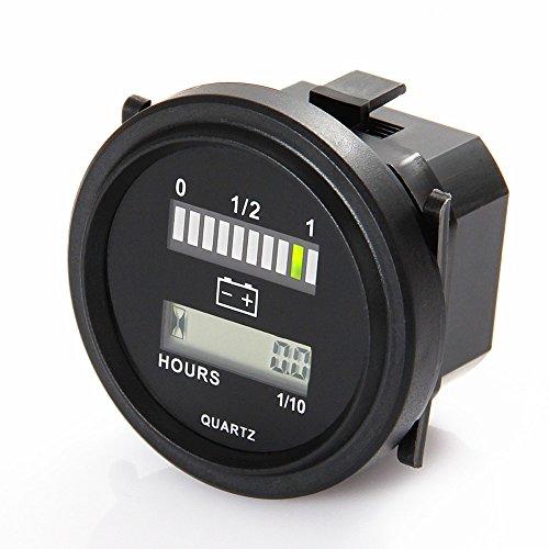 searon Indicatore di Batteria W/Hour Meter funzione per Marine Grade