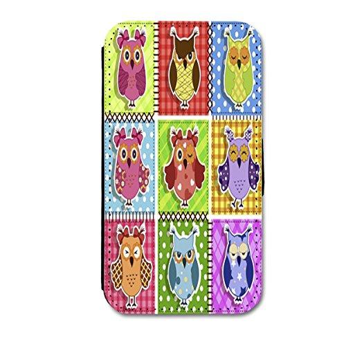 Book Style Flip Handy Tasche Case Schutz Hülle Schale Motiv Etui für Apple iPhone 6 - 4,7 Zoll - A6 Design7 Design 24