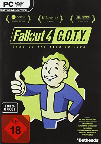 fallout 4 dvd Fallout 4 - Game of the Year Edition - [PC]