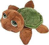 Li'l Peepers 14181 - Original Suki Stofftier Schildkröte Sandy, 25 cm, braun