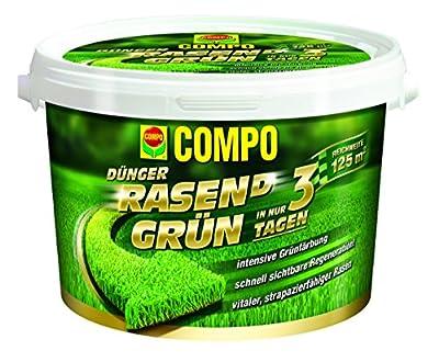 Compo RASEN(D) Grün Rasendünger 3,75 kg von COMPO - Du und dein Garten